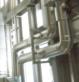 06-Isolierung mit verzinktem Feinblech bearbeitet